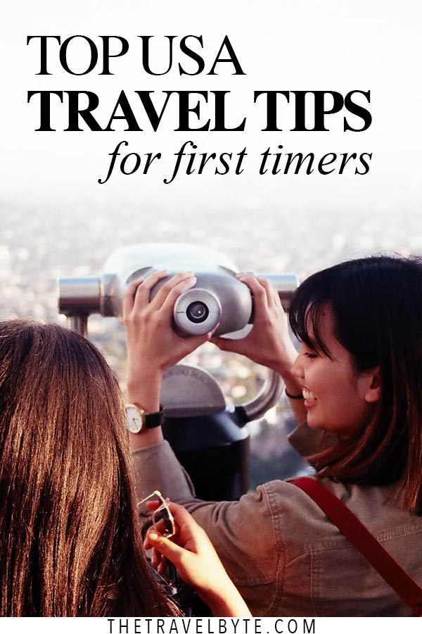 Top USA Travel Tips Pin